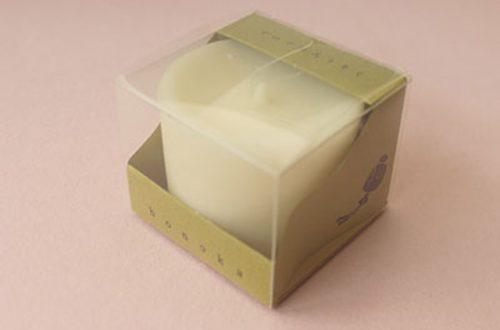 今月のプレゼント アロマ和ろうそく(凜の香り)honoka(小大黒屋商店)