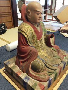 メイクリーン(堺市)日蓮聖人像