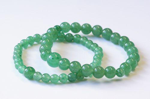 今月のプレゼント 新緑のシーズンに映える「アベンチュリンのペア腕輪念珠」を10名様にプレゼント