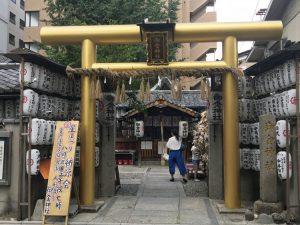 堀金箔粉(京都)のスーパーファインゴールド塗装例