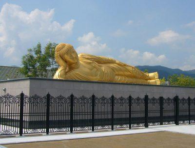 堀金箔粉(京都)セーリングゴールドシリーズ外装美濃墓地公園涅槃像金色塗料