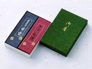 精華堂(淡路)祥雲・銘香伽羅2入進物箱