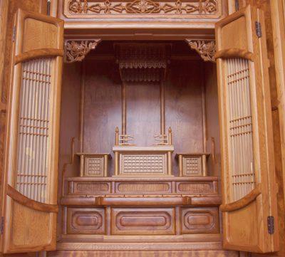 東京仏壇のさかた屋久杉仏壇伝統型天平155㌢