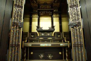 梅西優佛堂(京都市山科区)京型出迎門尺八黒柿