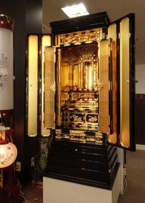 お仏壇のコガ(福岡)伝統的工芸品金仏壇20号