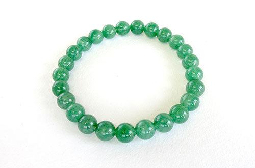 今月のプレゼント 腕輪念珠 印度翡翠